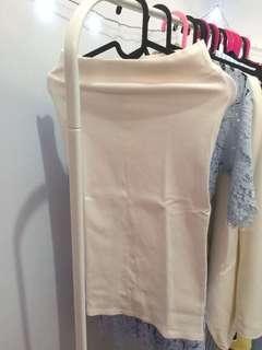 Magnolia White pencil skirt