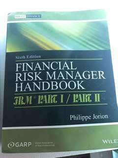FRM handbook