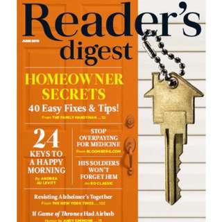 Reader's Digest USA – June 2018