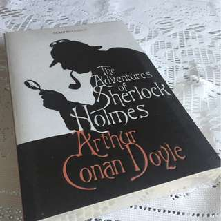 The adventure of Sherlock Holmes by Conan Doyle