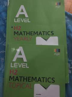 H2 Math TYS package!!!