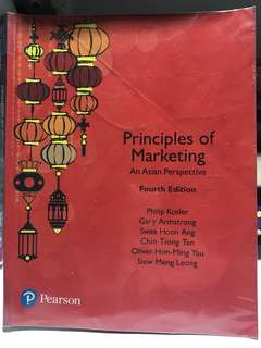 MKT1705 Principle of Marketing: An Asian Perspective 4th edition