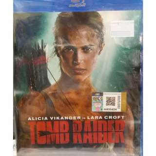 Tomb Raider Alicia Vikander DVD