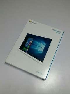 Windows 10 中文繁體家用版 usb安裝套裝( 請睇以下商品敘述!)