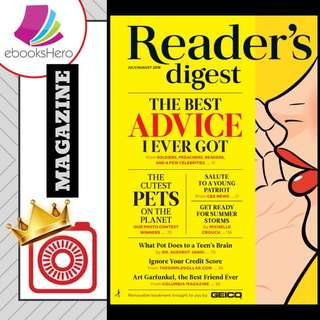 Reader's Digest USA - July/Aug 2018