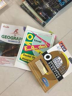 🚚 O Level Books Geography & Sec 2 Geography