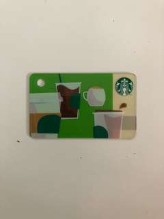 Mini Starbucks Card