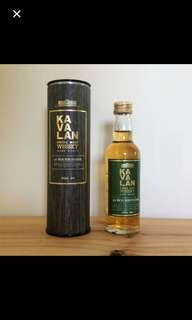 Kavalan ex-Bourbon Oak Whisky 酒辦 50ml
