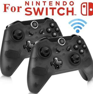 New 2pc Wireless Pro Controller Nintendo Switch