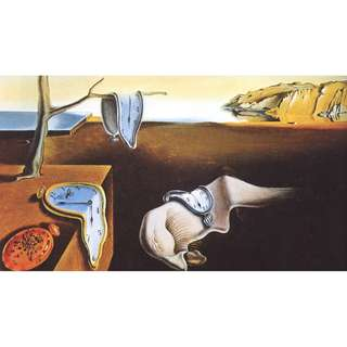 🚚 THE PERSISTENCE OF MEMORY, C.1931 By Salvador Dalí. A2 Art Print.
