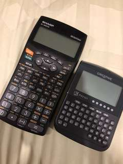 🚚 Sharp calculator & Creative chinese dictionary