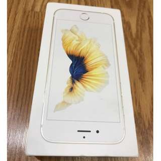 iPhone 6S Gold 128GB BOX ONLY 吉盒