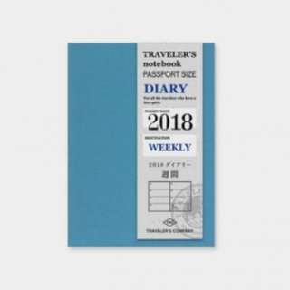 [DISCOUNT] Traveler's Company 2018 Refill Diary Weekly