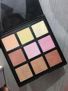 morphe blush and highlight palette