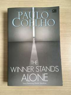 Books for sale!  Winner Stands Alone by Paolo Coelho (Bahasa Indonesia)