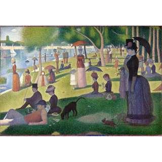 🚚 A SUNDAY ON LA GRANDE JATTE By Georges Seurat