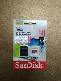 SanDisa 16GB  /16GB內存卡