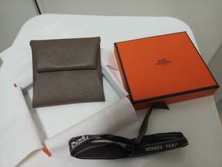Hermes Hermes change purse in Epsom calfskin