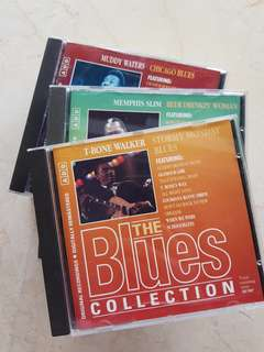 Blues collection Cds