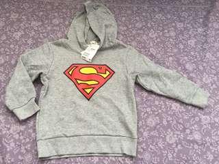 H&M Superman Hooded Sweatshirt (New)