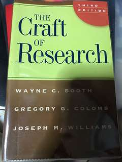 🚚 The craft of research