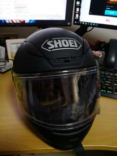 Shoei Helmet z7 matt Black S size