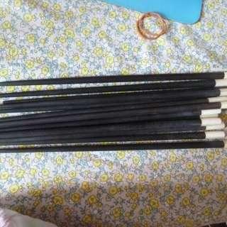 (二手) 筷子 6 對