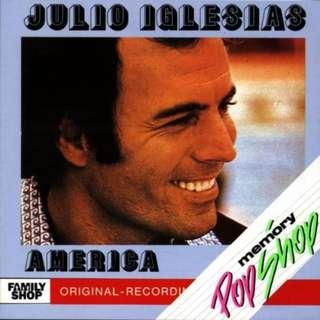 CD Europe Pressing Julio Iglesias – America