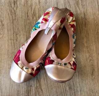 Ashley Printed Ballet Shoes