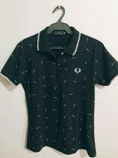 Black Polo Shirt -Women