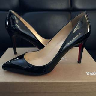 Authentic Christian Louboutin Pigalle 85 Size 36.5