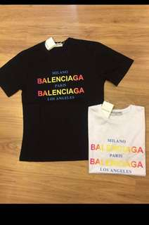 👨👱‍♀️🎉🛍 Authentic BALENCIAGA CITIES Tee, Unisex