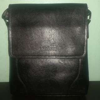 BRAND NEW black leather bag