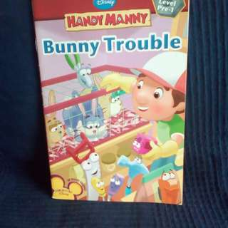 Handy Manny Bunny Trouble Early Reader Level Pre-1