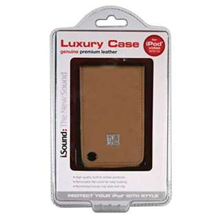 i.Sound Luxury Case for iPod Video (Brown)