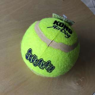 Kong AirDog Interactive Tennis Fetch Toy Squeakair Ball