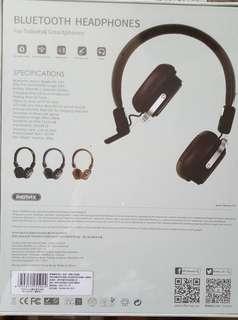 100% New 未開封Bluetooth Remax 耳機