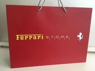 Ferrari 紙袋