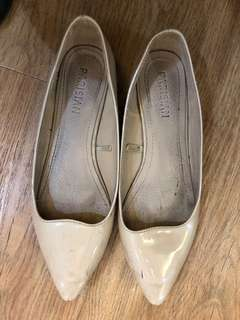 Parisian Nude Pointed Flats