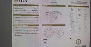 Gia 鑽石 證書 3ex