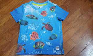 Mothercare Marine Fish and Turtle T-shirt