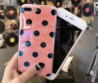 Polkadot Case Iphone X