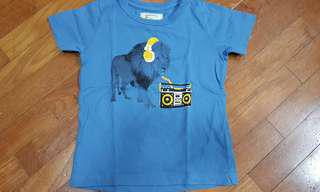 Mothercare Lion and Headphones T-shirt