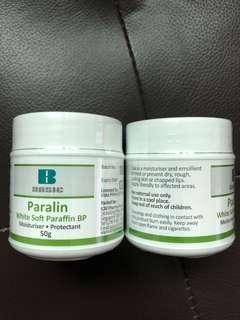 Paralin - White soft Paraffin BP 50g (2 bottles)