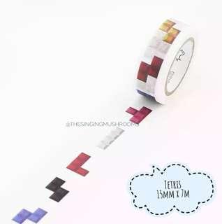 [T]Tetris washi tape