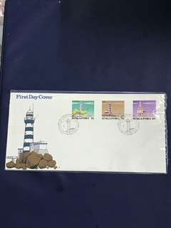 Singapore FDC as in Pictures.