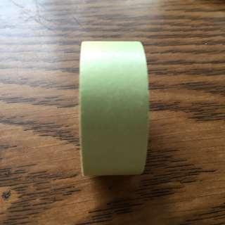 🚚 素色紙膠帶(淺綠偏黃)