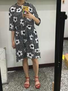 🚚 韓國洋裝全新 連身裙 古著風格