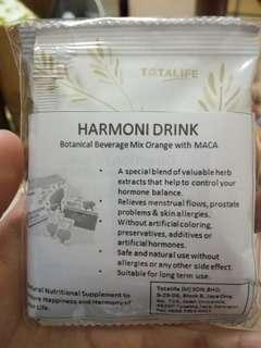 2x Totalife harmony drink