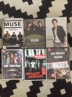 Music DVD & CD